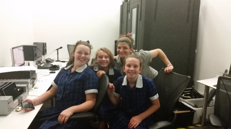 Year 7 Music Video making course at ACMI, 2015