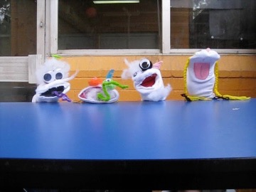When life gives you socks, you create a sock puppet unit