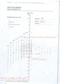 Pre/post-test data - literacy